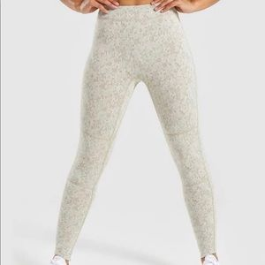 Gymshark Fleured Textured Leggings sz XS